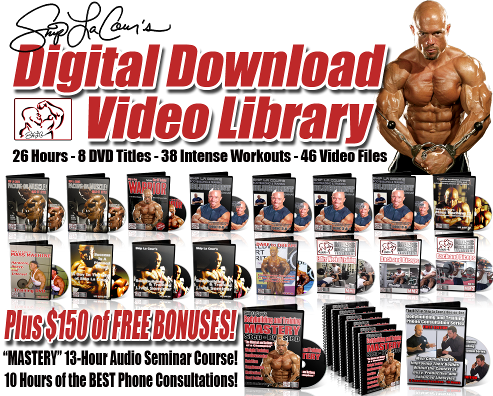 digital library3 Skip La Cours Results University Comprehensive Bodybuilding and Training Course